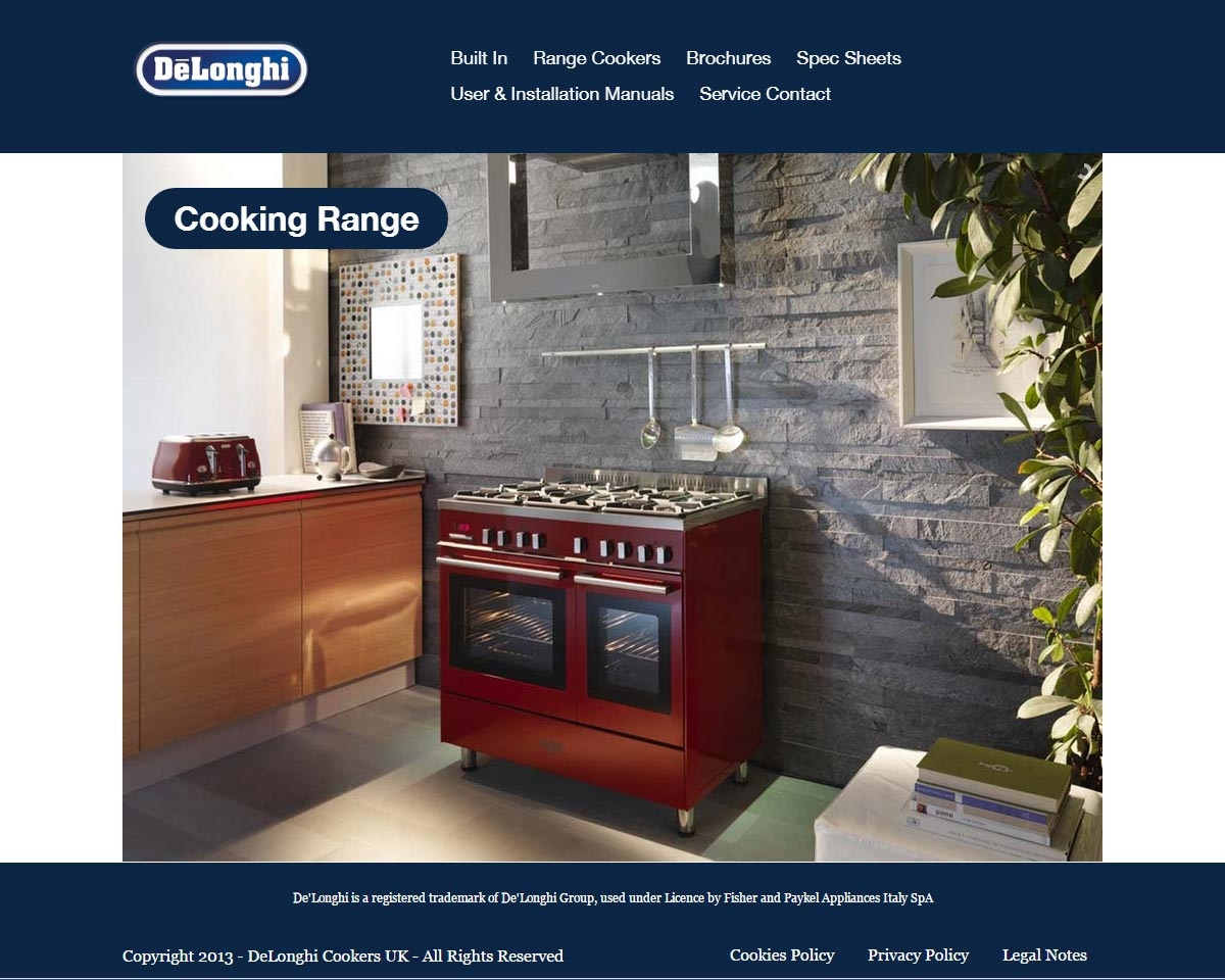 delonghi-cookers-uk
